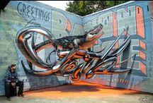Graffitti / Street Art. Arte das ruas