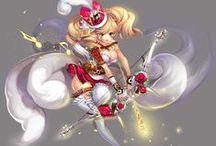 2D Character Concept Art for Game / 2D Concept Art for Game http://www.ggschool.co.kr/