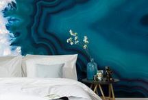 Bedroom Wallpaper / Are your bedroom walls lacking personality? Take a look at our beautiful collection of bedroom wallpaper designs. From cascading ombres to illustrative patterns, there's something for your colour scheme and style.