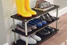 Shoe Storage / Shoes! How best to store them, products and ideas to get them neat & tidy around your home.