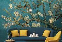 Murales de papel tapiz / Somos uno de los principales proveedores del mundo, tenemos pasión por los fondos de pantalla finos y creemos que nuestras decoraciones de pared de alta calidad son la mejor manera de combinar hermosas imágenes con diseño de interiores original.