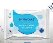 Biodegradable & Flushable wet Patient cleansing wipes