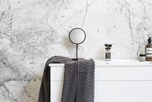 Bathroom Decor / On the lookout for new bathroom ideas? Whether you're on a budget, or simply looking for nifty ways to style a small space, a great place to start is creating an accent wall and styling around this wonderful feature.