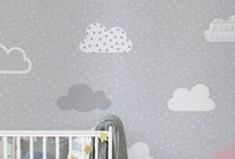 Nursery Decor / Looking for inspiration for your little ones nursery? These wallpaper murals and decor ideas are sure to inspire you to tranform your space into somewhere beautiful for your little newborn to sleep.