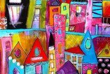 ART HOUSE & DOLCICOTTAGE / CASE DIPINTE UN PO' FAVOLA E IN PO' VERE E MOLTO NAIF