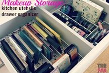 Organization 101 / Lots of great Organization Ideas for the home and abroad