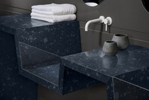 Caesarstone Bathrooms / Stunning bathrooms made with Caesarstone quartz surfaces.  www.Caesarstone.ca