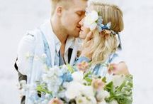 Blue Wedding / blue wedding inspiration and ideas / by Sara | Burnett's Boards