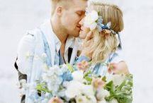 Blue Wedding / blue wedding inspiration and ideas / by Sara | Burnett's Boards