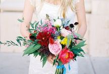 Rainbow Wedding / rainbow wedding inspiration and ideas