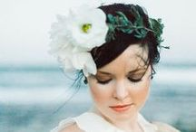 Veils & Hair Adornments  / Bridal veils, hats, and hair adornments  / by Sara | Burnett's Boards