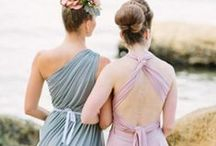 Bridesmaids  / Bridesmaid dresses, looks, and inspiration