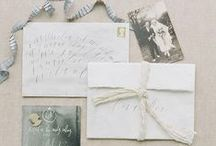 Invites & Stationary  / Wedding invitations and other gorgeous paper goods / by Sara | Burnett's Boards