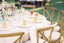 Reception / Wedding reception inspiration and ideas  / by Sara | Burnett's Boards