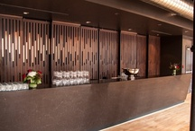 The Portland Room / Toronto's private club renovated its 'Portland Room' and chose Caesarstone Classico #5380 Emperadoro to adorn the bar. For more information on #5380 Emperadoro click here ---> http://www.caesarstone.ca/en/The-Catalog/Pages/Emperadoro.aspx