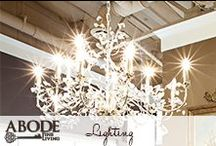 Lighting  / by Abode Fine Living