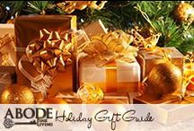 Holiday Gift Guide / by Abode Fine Living