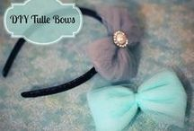 Accessories For the Hair, Only A Princess Can Wear <3 / Hair accessories made by Momma for the Little Princess!