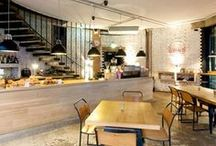 Café interiors / I love walking into a cafe and feeling an instant sense of style, creativity and passion. These are places I'd love to spend a rainy day, enjoy!