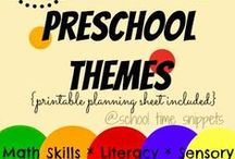 Preschool: Assorted Theme Packs / Lesson Plan Ideas, Activities etc / by Maggalie Torres