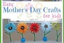 Preschool: Mother's Day, Father's Day, Grandparent's Day / Crafts, Arts, Cards, Ideas and more / by Maggalie Torres