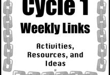 cycle 1 Classical Conversations / Resources