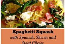 Spaghetti Squash Meals