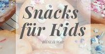 Snacks für Kids / Snacks für Kinder, kleine Häppchen