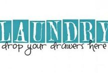 Laundry Room Ideas / Laundry Room / by Shanna Castle