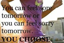 Fitness - Running, Stretching, Praying