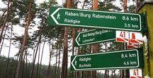 Wanderungen in Brandenburg / Wanderungen durch das schöne Brandenburg - Bekannte und weniger bekannte Routen zu jeder Jahreszeit