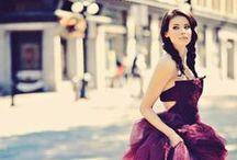 Abiti da sposa colorati / Bellissimi abiti per la sposa a colori