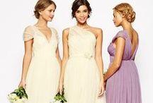 Abiti damigelle / Idee per l'abito delle damigelle della sposa