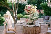 Ricevimento nozze / Spunti e idee per allestire e addobbare il ricevimento del matrimonio