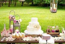 Confetti e dessert table / Tante idee per allestire i confetti, la confettata del matrimonio e il tavolo dei dolci o dessert table, una dolce sorpresa per gli invitati alle nozze.