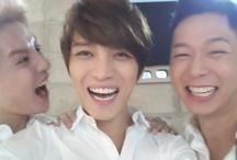 JYJ / DBSK ♥ Love / Kim Jaejoong (김재중) ♥ Park Yoochun (박유천) ♥ Kim Junsu (김준수) and those other two guys :P / by Lorraine (로레인) Groves