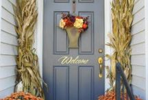 Doors and Wreaths / by Life, Health and Home