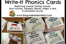 Read all about it!  Phonics/Phonemic Awareness / by Amy Gonzalez