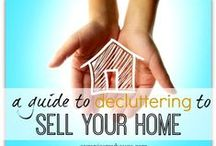 Selling your House Tips / Step 1: Declutter Step 2: Deep clean, Remove Odors Step 3: Repairs Step 4: Stage to sell / by Somer Lynne Padilla