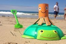 Summer Fun / We've gathered some fun summer ideas to keep the kids busy and entertained. Encourage imaginative play!