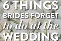 Weddings.. clever tricks