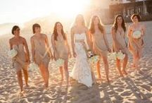 Beach Wedding Bridesmaids / Beach wedding bridesmaids ideas