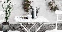 outdoor styling / #outdoor #terras #ethnic #styling #design #interior #scandinavian #eclectic