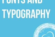 Fonts & Typography / Useful resources and tips for fonts and typography.