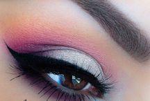 Make-up voor bruine ogen / Make-up, visagie