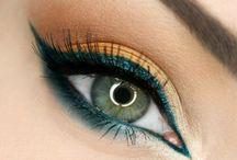 Make-up voor blauwe ogen / Make-up, visagie
