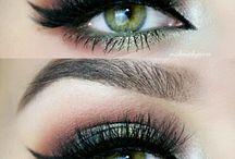 Make-up voor groene ogen / Make-up, visagie