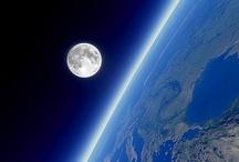 Skyline & the moon