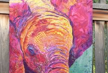 Elephant, Hippos, and Rhinos