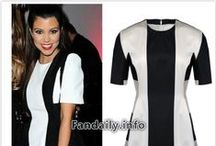 Kourtney Kardashian fashion & Style